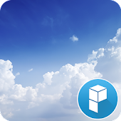 Floating Cloud Launcher Theme
