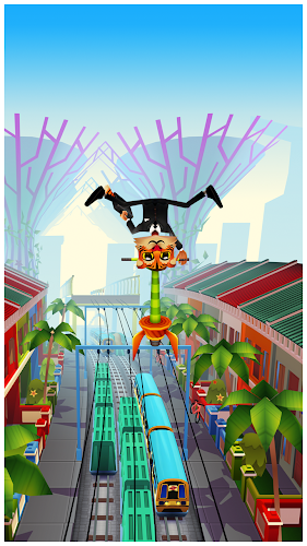 Subway Surfers Singapore - Screenshot