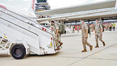 Salida del contingente en mayo desde Almería