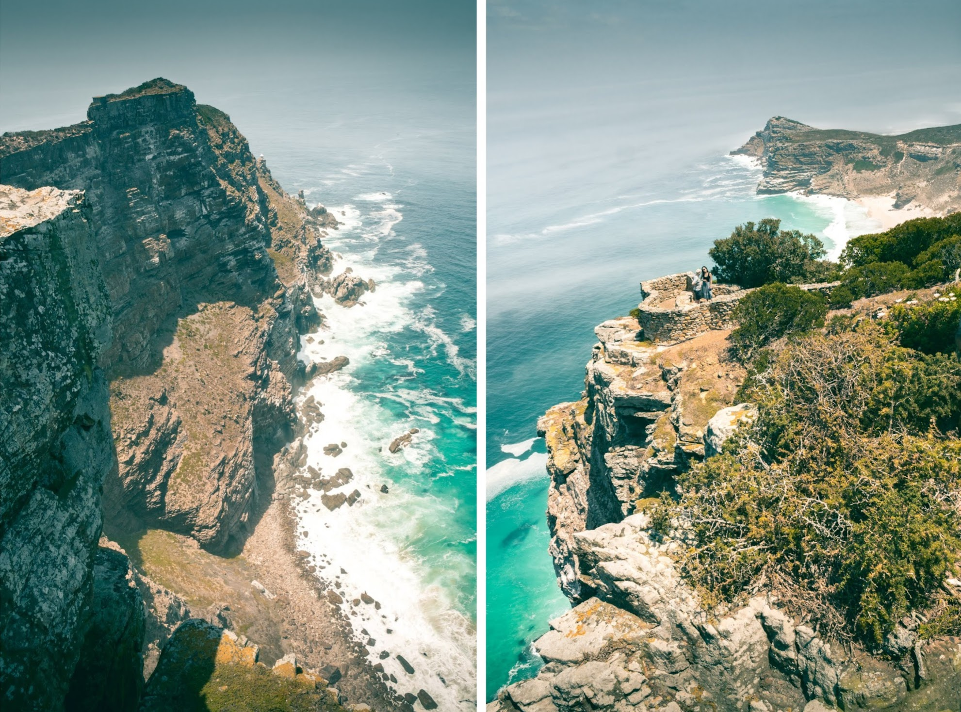 Stunning view from Cape Point Lighthouse