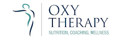 oxy therapy logo | nutrition , massage & fitness