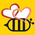 BeeLove - หาเพื่อน หาแฟน หาคนรัก อยู่ใกล้คุณ icon