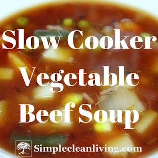 Slow Cooker Vegetable Beef Soup.