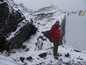 Photo: Lyngve at the Zawtra-la pass (4600m)