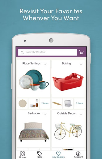 Wayfair - Shop All Things Home Screenshot