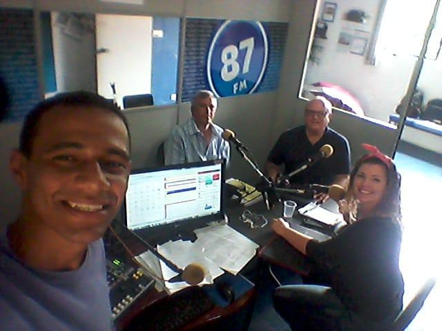 Leandro Vidal, Jota Araújo, Prof. Paulo Roberto Vieira e Carol Negrão