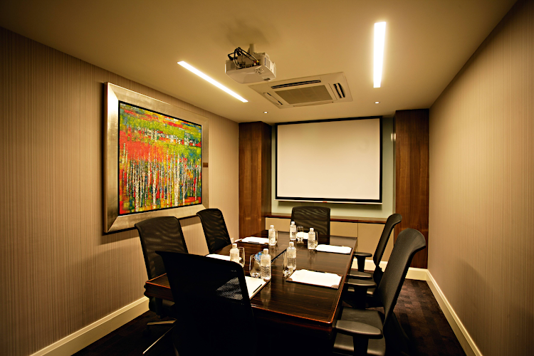 Meeting room at Ascott Raffles Place Singapore