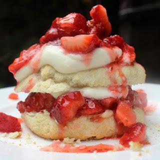 Old-Fashioned Strawberry Shortcake.