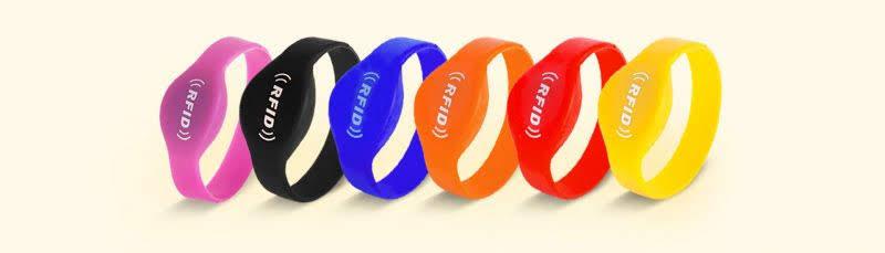 Vòng tay cao su RFID NFC