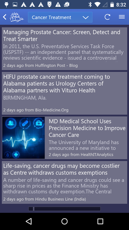 Northern Light Pharma News- screenshot