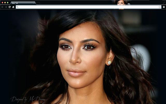Kim Kardashian Tribute New Tab
