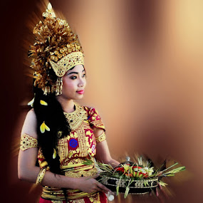 :: Balinese Dancer in Moves :: by Andi Ilham - Digital Art People