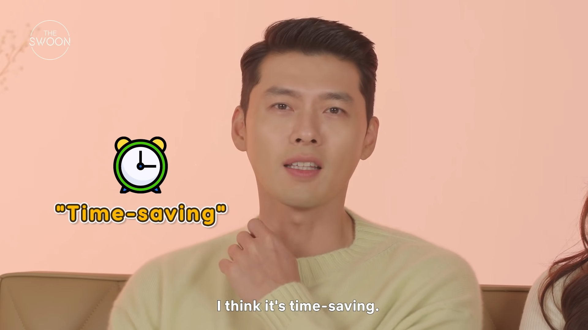Hyun Bin and Son Ye-jin on work, healing, and what makes them happy _ Couch Talk [ENG SUB] 6-41 screenshot
