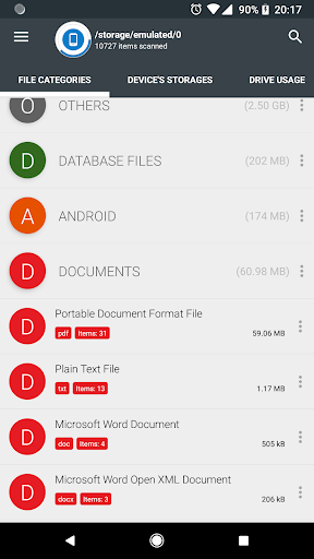 Storage Analyzer & Disk Usage 4.1.0.9 Screenshots 4