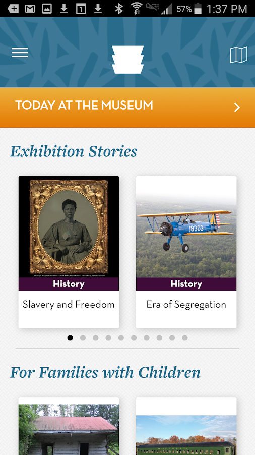 NMAAHC Mobile Stories- screenshot