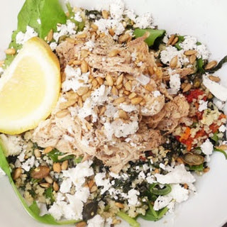 Chicken And Spinach Couscous Salad