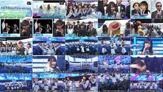 190419 (720p+1080i) 日向坂46 – Music Station