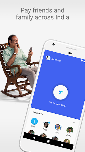 Tez – A new payments app by Google app (apk) free download for Android/PC/Windows screenshot