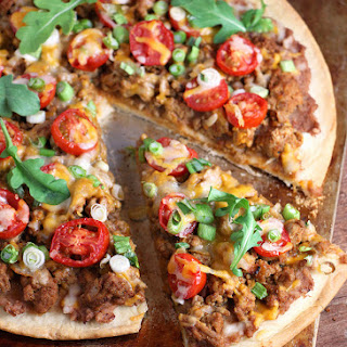 Turkey Taco Pizza