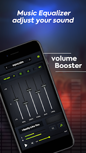 Volume Booster - Musik-Equalizer Screenshot