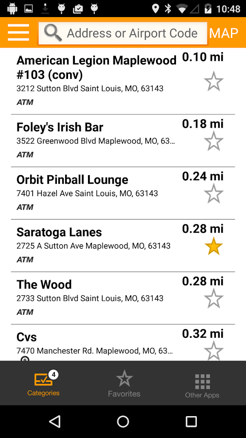 MasterCard Nearby- screenshot