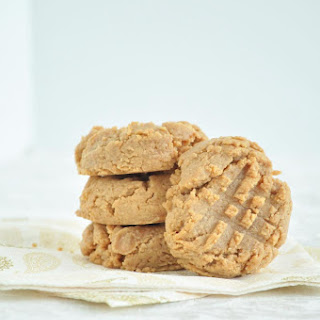 3 Ingredient Peanut Butter Cookies.
