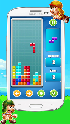 Chaves Block Classic Retro - screenshot