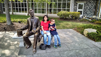 Photo: Hope and Steve with Lincoln