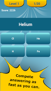 Periodic table quiz apps on google play screenshot image urtaz Image collections
