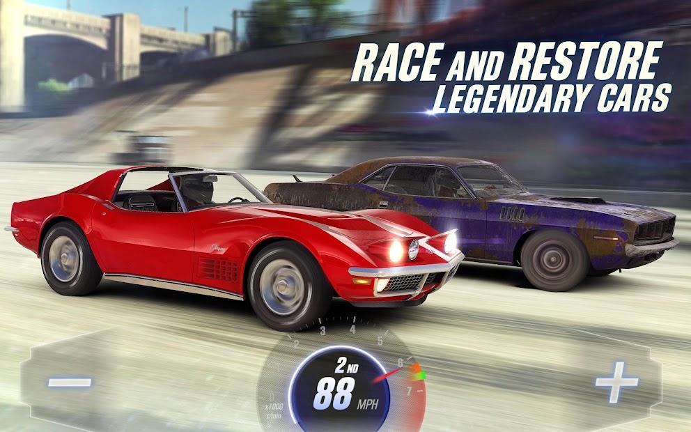 CSR Racing 2 Android App Screenshot