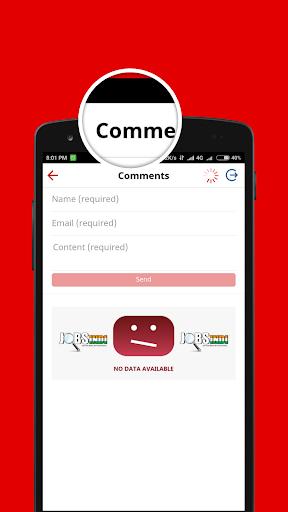 Sarkari Naukri (Jobsindi) - Latest Goverment Jobs app (apk) free download for Android/PC/Windows screenshot