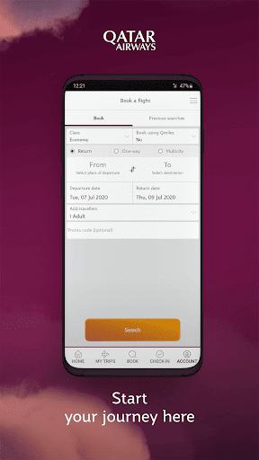 Qatar Airways  screenshots 2