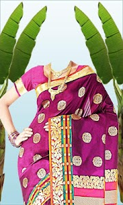 Wedding Saree Photo Suit screenshot 7
