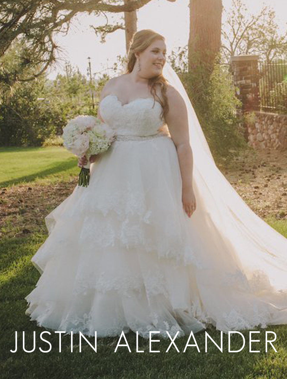 The Bridal Collection Plus Size Wedding Gown