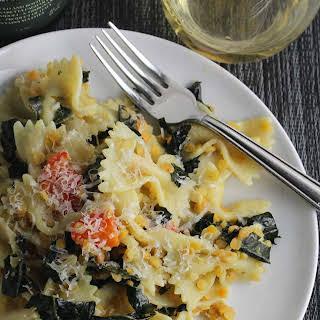 Tuscan Kale Pasta.