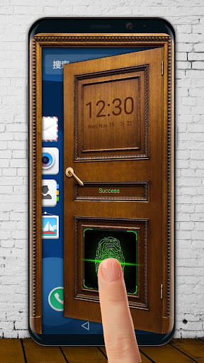Open the door lock screen 9.2.0.1832_master screenshots 2