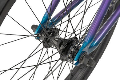 "Radio 2019 Valac 20"" Complete BMX Bike 20.75"" TT Cyan Purple Fade alternate image 3"