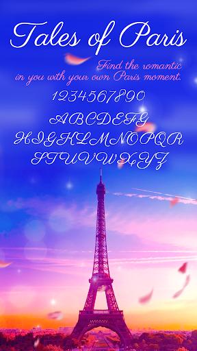 Paris Free Font For Keyboard