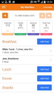 AADE Diabetes Goal Tracker- screenshot thumbnail