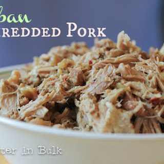 Crock Pot Cuban Shredded Pork.