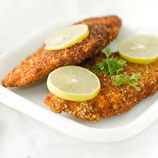 Chicken Schnitzel – Golden Fried Chicken Steaks.