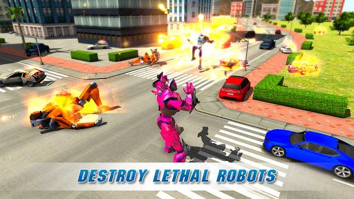 Real Robot Crocodile Simulator- Robot transform 1.0.12 Screenshots 13