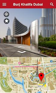Street View Live mapa - Satelitní pozemní navigace - náhled