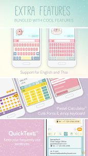 Pastel Keyboard Theme Color Add colorful design 2.2.0 Paid 4