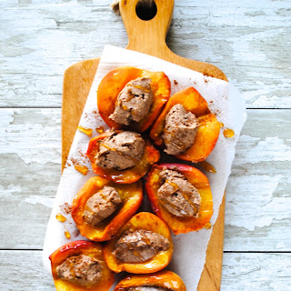 Baked Peaches With Mascarpone Recipes