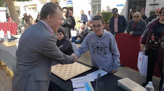 Ciro, el almeriense de 14 años que ha ganado al campeón del mundo de ajedrez