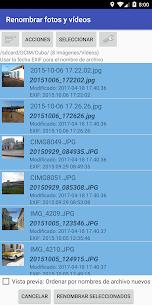 Renombrar fotos y vídeos Pro 5