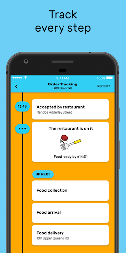 Mr D Food - delivery & takeaway  screenshots 4