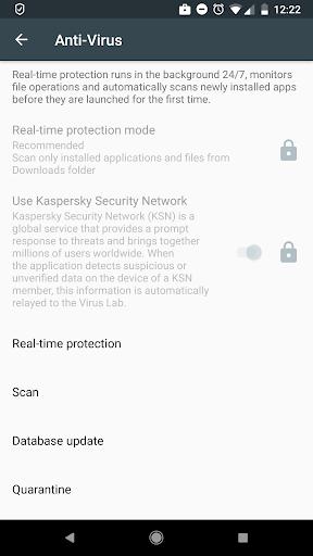 Kaspersky Endpoint Security & Device Management screenshot 2