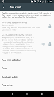 screenshot of Kaspersky Endpoint Security & Device Management